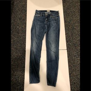 MOTHER skinny jeans sz 25